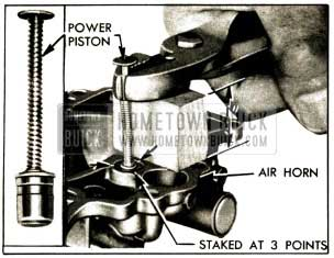 1952 Buick Removing Vacuum Power Piston