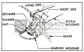1952 Buick Reveal Molding Retainer Installation