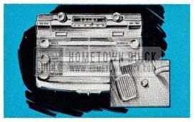 1952 Buick Selectronic Radio