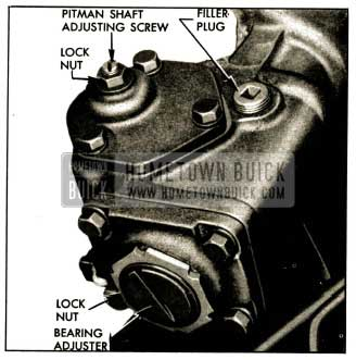 1952 Buick Steering Gear Adjustments