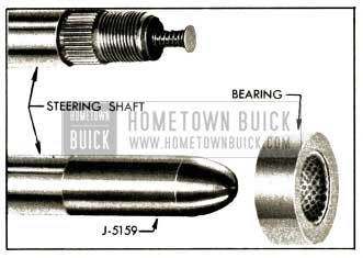 1952 Buick Steering Shaft, Upper Bearing, and Bearing Projector J 51 59