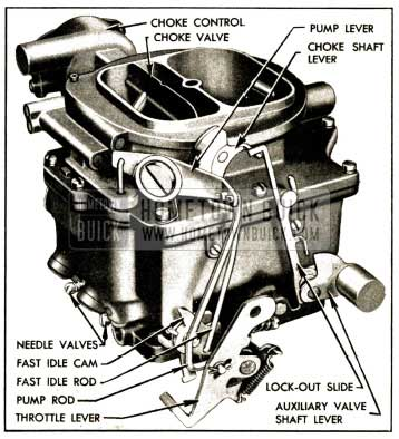 1952 Buick Stromberg 4-Barrel Carburetor