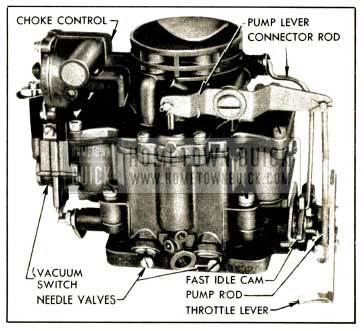 1952 Buick Stromberg AAUVB Carburetor Assembly