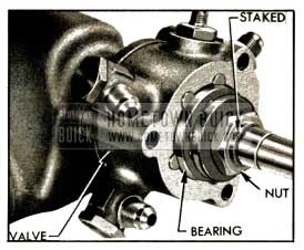 1952 Buick Thrust Bearing and Nut