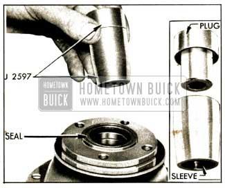1952 Buick Torque Ball Installing Tool J 2597