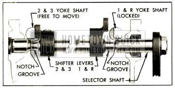 1952 Buick Transmission Shift Interlock