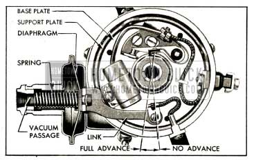 1952 Buick Vacuum Advance Mechanism