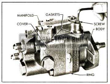 1952 Buick Vickers Pump-Removing Manifold