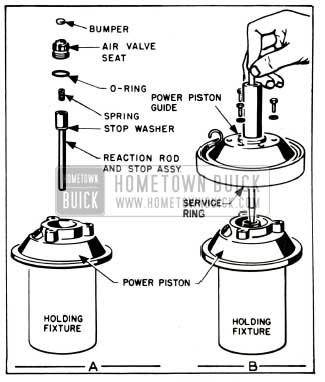 1953 Buick Assembly of Piston and Guide