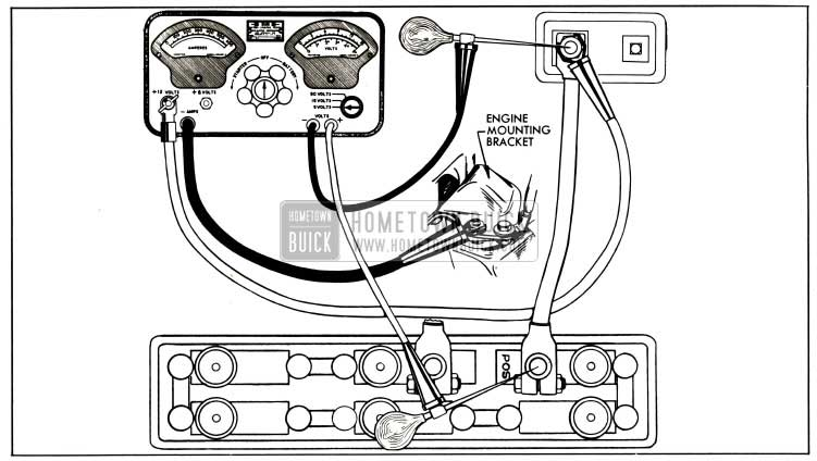 1953 Buick Battery Cable Test Connections