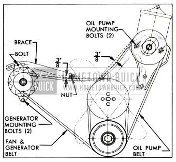 1953 Buick Belt Adjustments