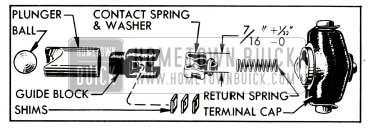 1953 Buick Carter Accelerator Vacuum Switch Parts