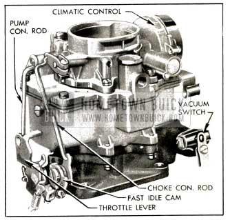 1953 buick carter wcd carburetor assembly