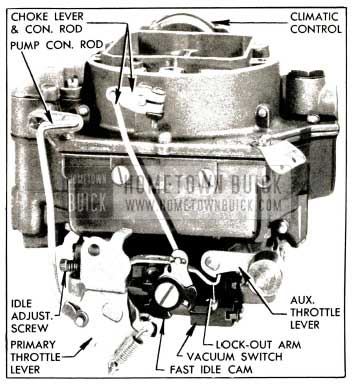 1953 Buick Carter WCFB Carburetor Assembly