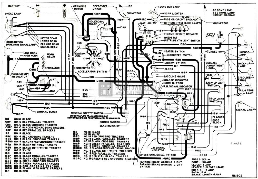 1953 buick wiring diagram 1953 wiring diagrams online 1953 buick chassis wiring circuit diagram series 40