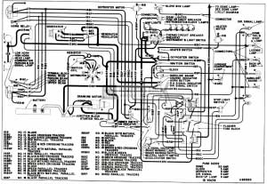 1953 buick chassis wiring circuit diagram series 50 70 dynaflow rh hometownbuick com 1955 Buick 1952 Buick
