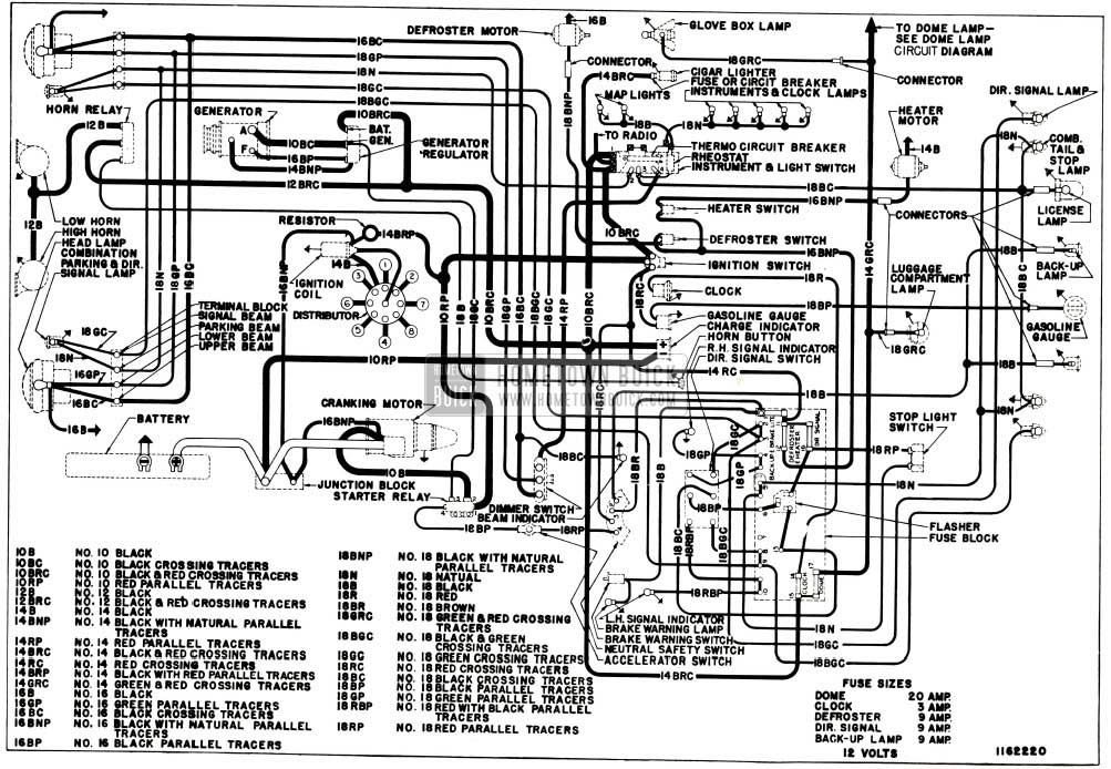 1953 buick wiring diagram 1953 wiring diagrams online 1953 buick chassis wiring circuit diagram series