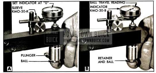1953 Buick Checking Ball Travel