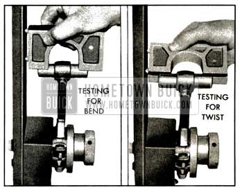 1953 Buick Checking Connecting Rod Alignment