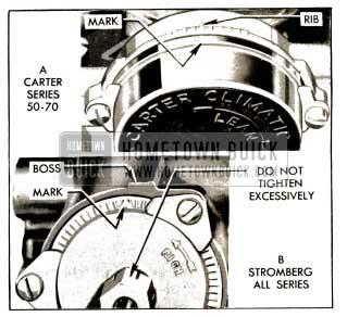 1953 Buick Choke Thermostat Settings