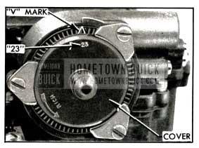 1953 Buick Choke Thermostat Standard Setting