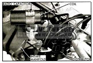 1953 Buick Coil and Distributor