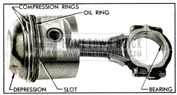 1953 Buick Connecting Rod and Piston Assembly