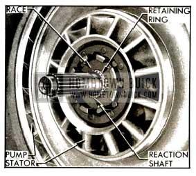 1953 Buick Converter Stator Mounting