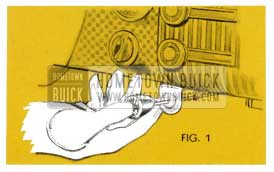 1953 Buick Convertible Top Release