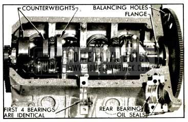 1953 Buick Crankshaft and Bearings