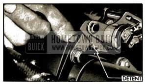 1953 Buick Dynaflow Control Detent-Series 40