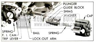 1953 Buick Fall Idle Cam and Vacuum Switch Parts