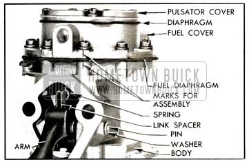 1953 Buick Fuel Section of Pump