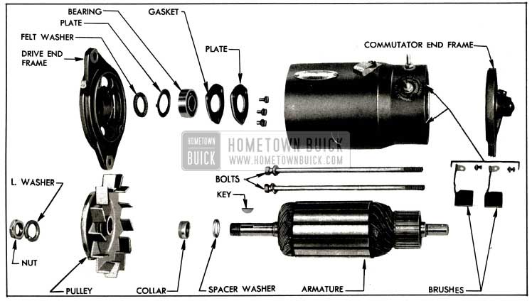 1953 buick generating system