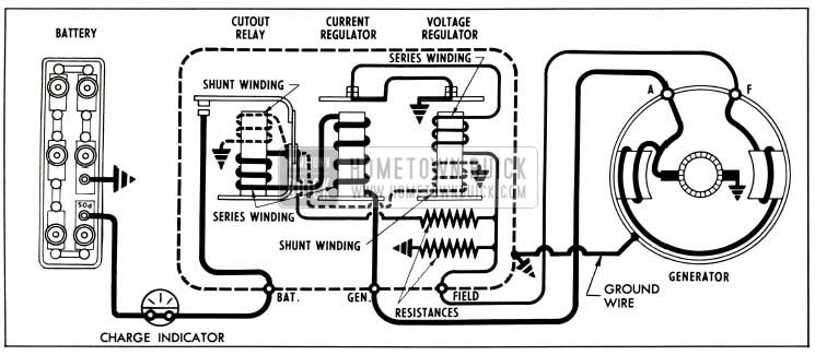 1953 buick generating system