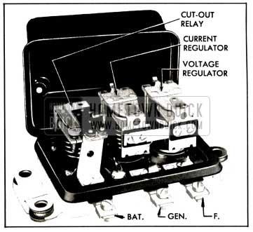 1953 Buick Generator Regulator