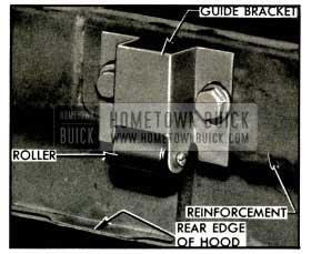 1953 Buick Hood Guide Bracket