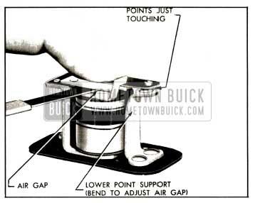 1953 Buick Horn Relay Air Gap Adjustment