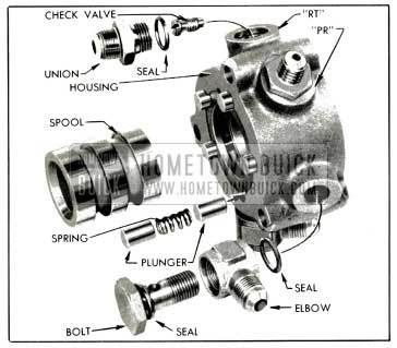1953 Buick Hydraulic Valve Parts