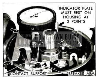 1953 Buick Indicator for Checking Contact Point Opening