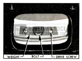 1953 Buick Installation of Balance Weight