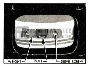 1953 Buick Installation of Balance Weight