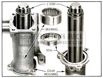 1953 Buick Installing Bearing and Seal in Gear Housing
