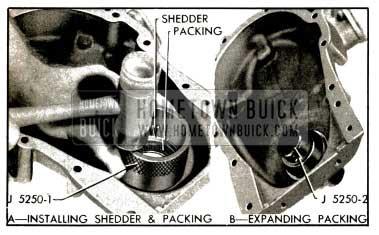1953 Buick Installing Crankshaft Oil Seal
