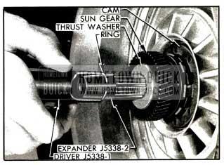 1953 Buick Installing Turbine Retaining Ring