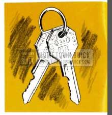 1953 Buick Keys and Locks