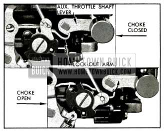 1953 Buick Lock-Out Arm Adjustment