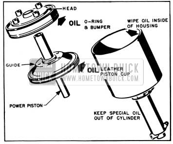 1953 Buick Lubrication of Parts Before Installation