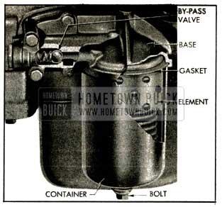 1953 Buick Oil Filter Installation