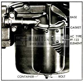 1953 Buick Oil Filter-Series 50-70